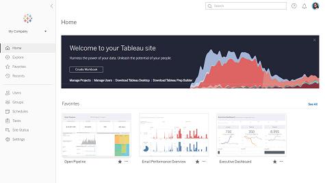 Tableau User Interface Screenshot