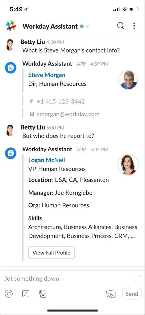 WorkdayAssistantSlack