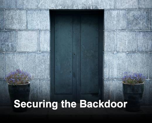 Five Backdoor Entrances You Need to Secure - slide 1