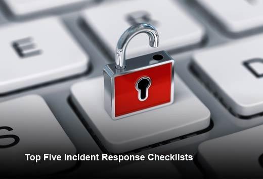 5 Essential Incident Response Checklists - slide 1