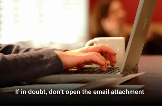 Tips for Avoiding Phishing Email Traps - slide 2