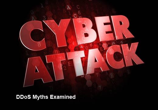 5 DDoS Myths Debunked - slide 1
