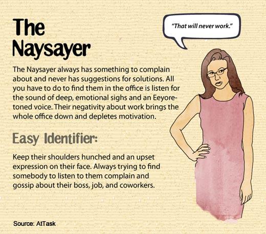 The Nine Most Despised Work Personalities - slide 6