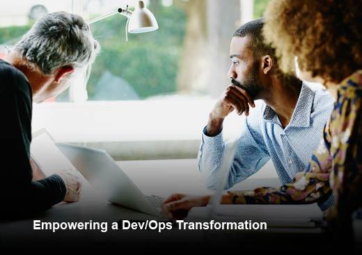 7 Steps for a Sustainable DevOps Transformation - slide 1