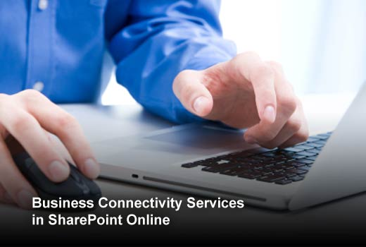 Eight Steps to Connect Office 365/SharePoint Online with External Data - slide 1