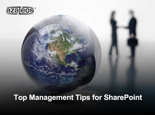 Ten Ways to Optimize SharePoint 2010 for Peak Performance - slide 1