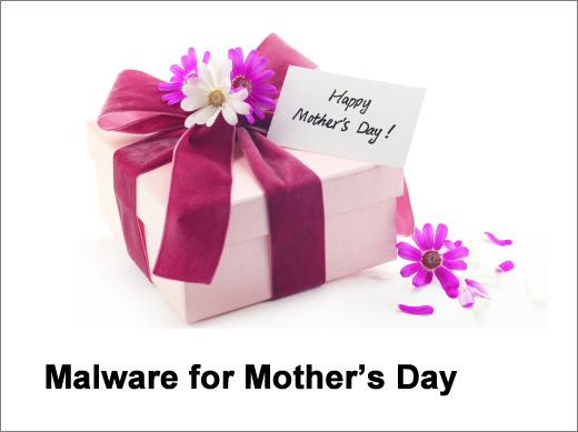 Malware Instead of Carnations for Mother's Day - slide 1