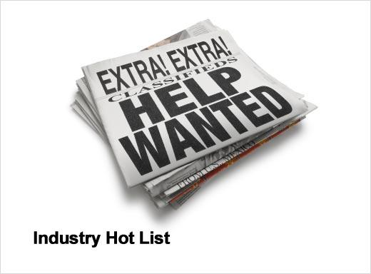 2012's Hot IT Jobs by Industry - slide 1