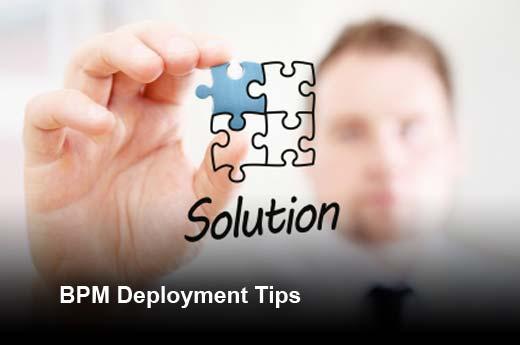 Ten Best Practices for Business Process Management (BPM) Deployment - slide 1