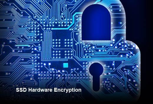 How Self-Encrypting SSDs Enhance Data Security - slide 1
