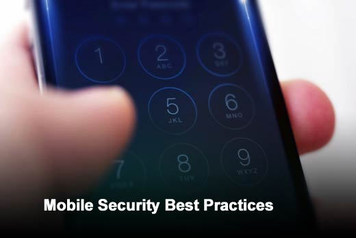 Five Tips for Overcoming Mobile Security Challenges - slide 1