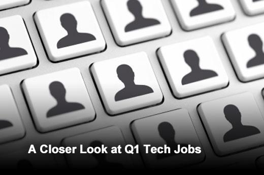 Tech Employment Snapshot - Q1 2013 - slide 1