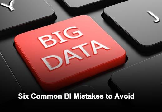 Six Big Business Intelligence Mistakes - slide 1