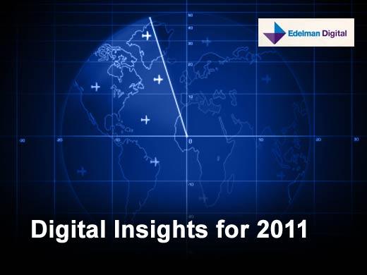 11 Digital Trends to Watch in 2011 - slide 1