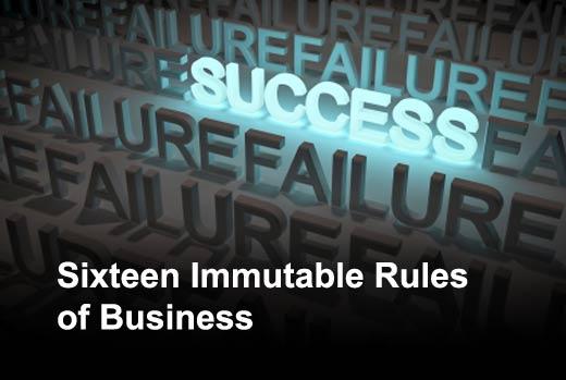 The Secret Rules of Business Success (or Failure) - slide 1