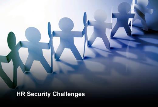 Data Protection: Five Challenges Facing the Enterprise HR Department - slide 1