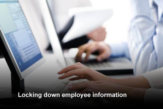 Data Protection: Five Challenges Facing the Enterprise HR Department - slide 2