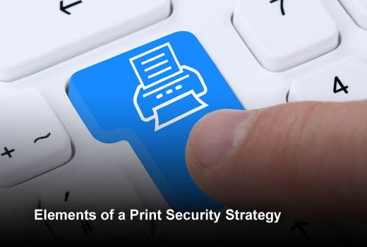 5 Components of an Enterprise Print Security Strategy - slide 1