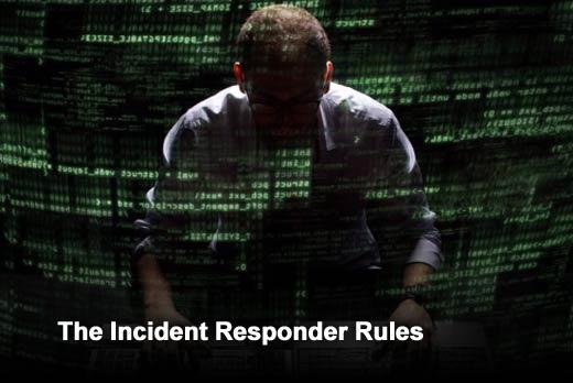 Ten Rules for the Cyber Incident Responder - slide 1