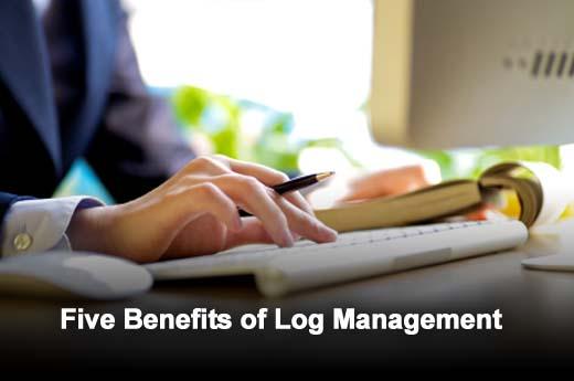 Five Unique Ways to Use a Log Management Solution - slide 1