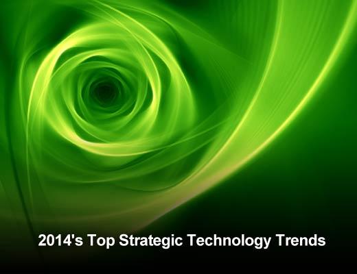 Top 10 Strategic Technology Trends for 2014 - slide 1
