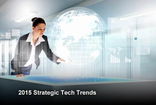 Top 10 Strategic Technology Trends for 2015 - slide 1