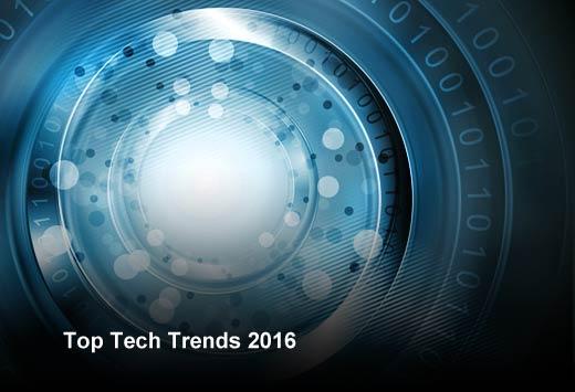 Top 10 Strategic Technology Trends for 2016 - slide 1