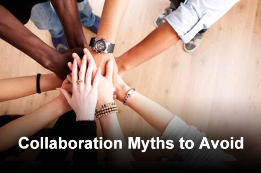 Five Collaboration Myths - slide 1