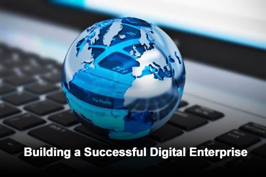 Six Key Steps to Build a Successful Digital Business - slide 1