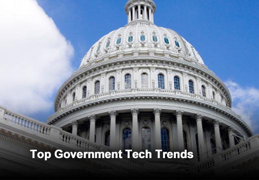 Top 10 Strategic Technology Trends for Smart Government - slide 1