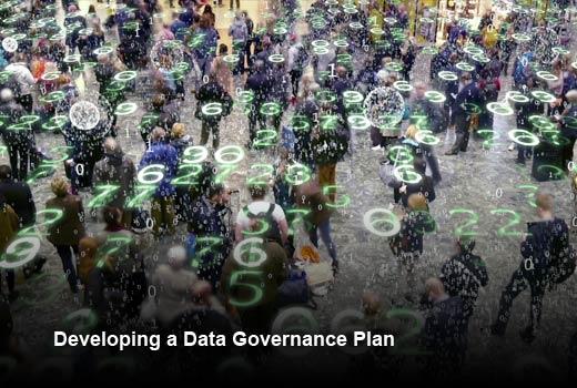 10 Steps for a Proper Data Governance Plan - slide 1