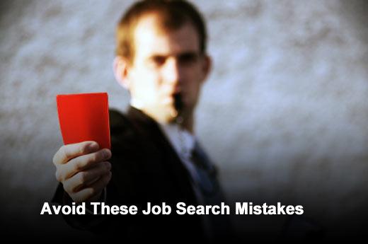 Top 10 Mistakes Job Seekers Make - slide 1