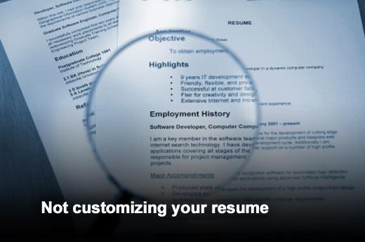 Top 10 Mistakes Job Seekers Make - slide 3