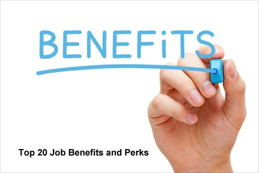 20 Companies that Raise the Bar on Job Perks - slide 1