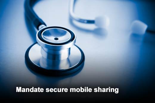 Five Policies to Ensure Secure Medical Mobile Apps - slide 2