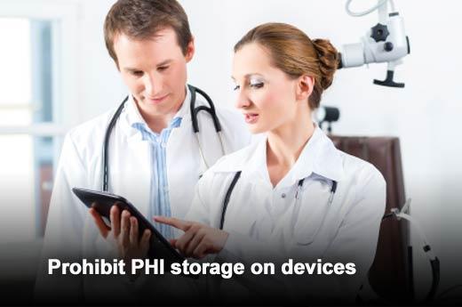 Five Policies to Ensure Secure Medical Mobile Apps - slide 3