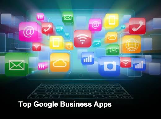 Ten Hot Google Apps for Business - slide 1