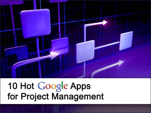 10 Top Google Project Management Apps - slide 1