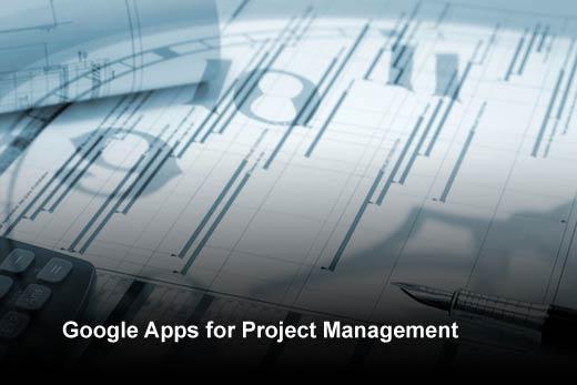 Ten Notable Google Project Management Apps - slide 1