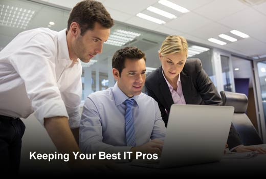 5 Tips to Retain Your Top IT Talent - slide 1
