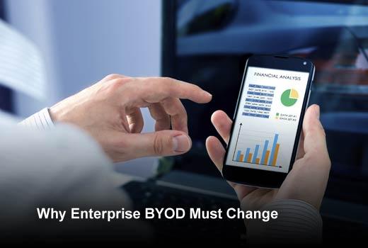 Redefining Enterprise BYOD: Meeting Tomorrow's Demands - slide 1