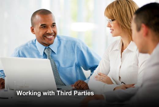 A Third-Party Management Best Practices Checklist - slide 1