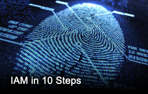 10-Step Identity Access Management Process Design - slide 1