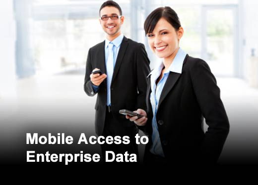 Access to Enterprise Software from Mobile Devices Lagging - slide 1