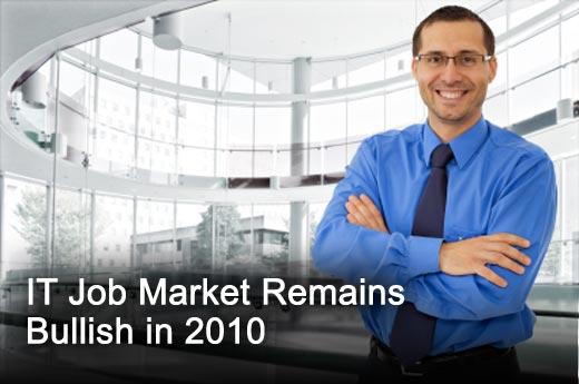 Ten Reasons Why the IT Job Market Is Hot in 2010 - slide 1