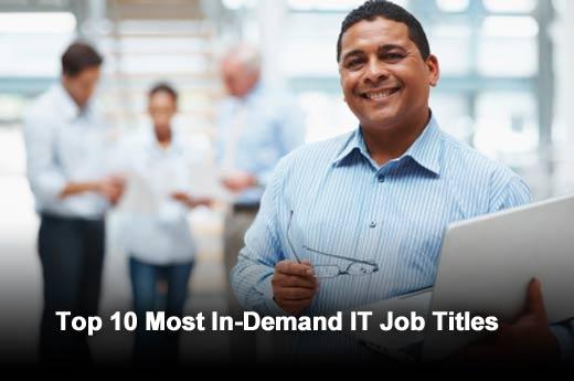 Top 10 Most In-Demand IT Job Titles - slide 1