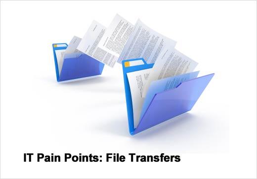 Five File Transfer Pain Points - slide 1