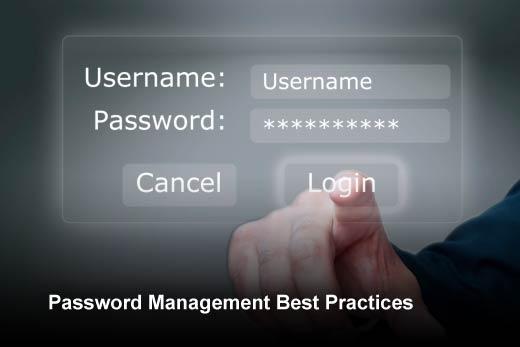 Protecting Corporate Identities Through Password Management - slide 1