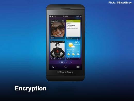 BlackBerry 10: The Top Five Enterprise Security Features - slide 6