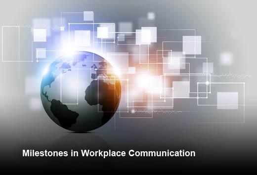 The Evolution of Communication Technology - slide 1